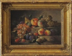 """Two Tier Still Life with Fruits"""