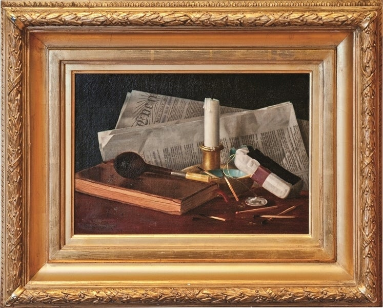 """""""Still Life with Newspaper and Pipe"""""""