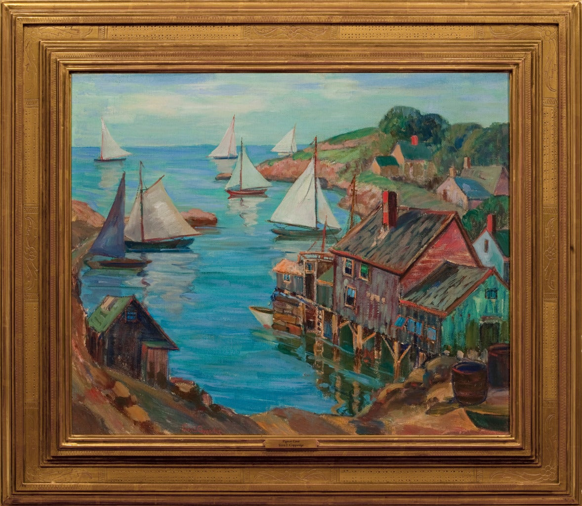 Fern Isabel Coppedge Quot Pigeon Cove Quot At 1stdibs