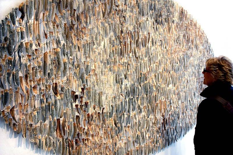 Bibliophylum - Contemporary Sculpture by Jessica Drenk