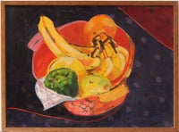 Still Life with Vegetables in Bowl