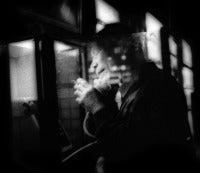 Night phone call and a smoke, Hatagaya, Tokyo