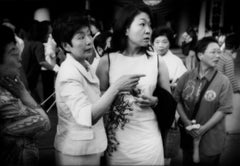 Spotting a celebrity outside Kabuki-za Theatre, Ginza, Tokyo