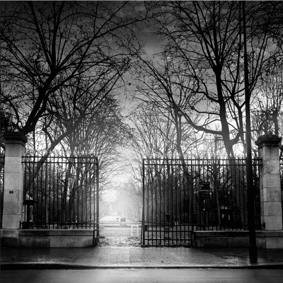 Jean michel berts black and white photograph luxembourg garden