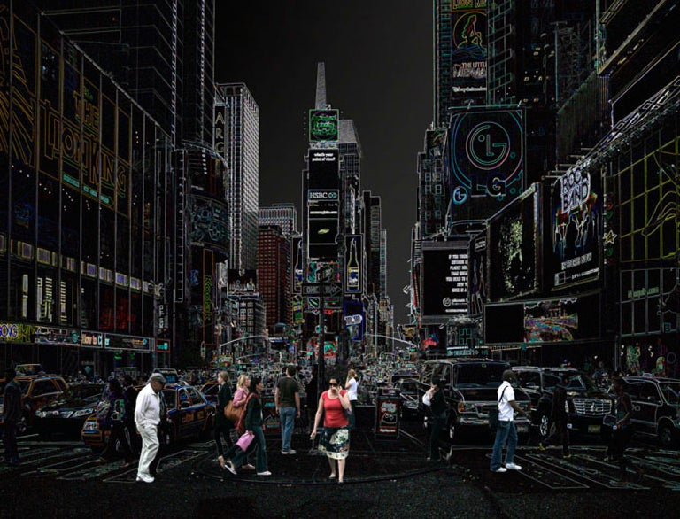 Wolfram Ruoff Landscape Photograph - Times Square
