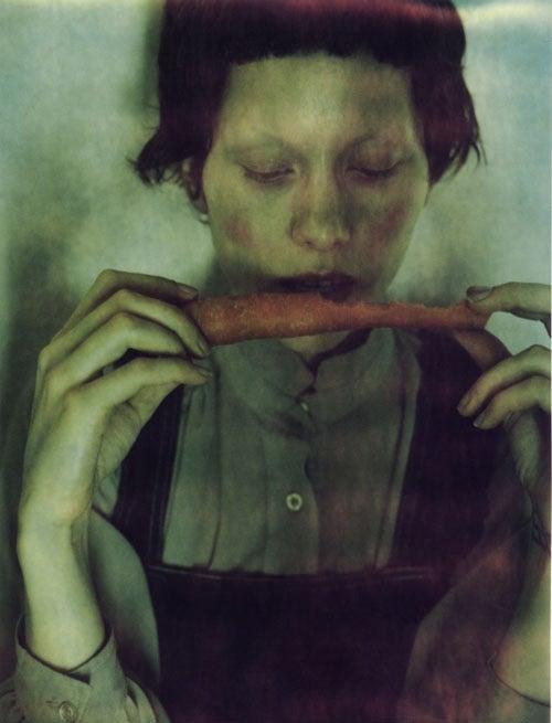 woman portrait, color, Plaisir de Fendu 1