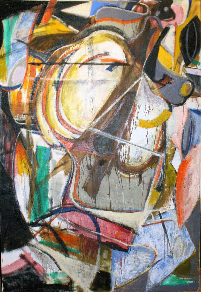 Philip Allen Abstract Painting - Duolian