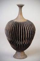 Brown Flange Twist Bottle Form