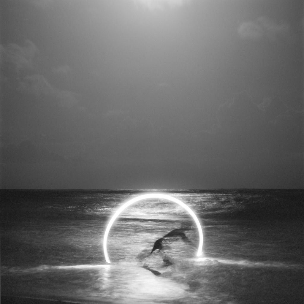 Heather Boose Weiss Black and White Photograph - Moon Beam