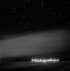 Saints, black and white landscape photograph
