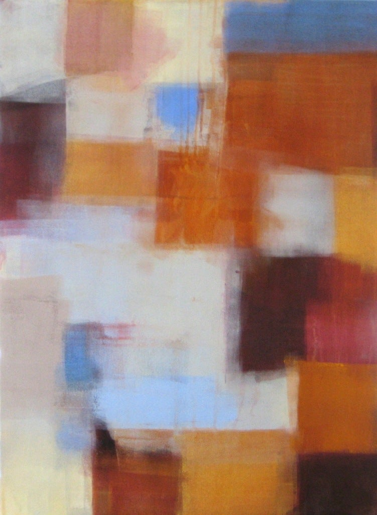 Ellen Hermanos Abstract Painting - Fall Influence
