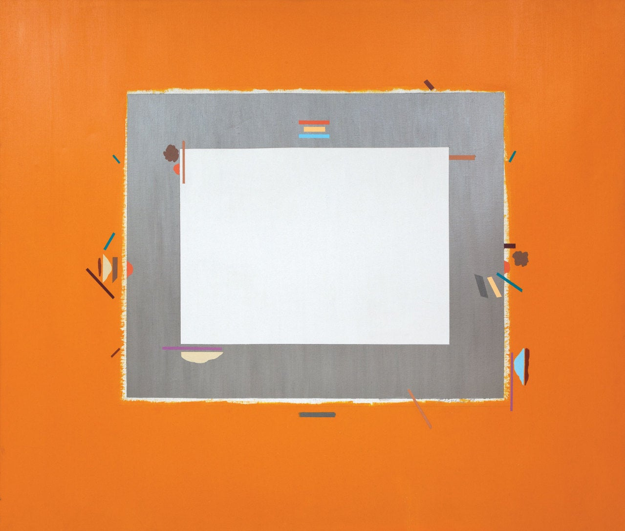 Carole eisner chroma 2 painting for sale at 1stdibs for Chroma mural paint