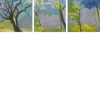 Trees & Air (triptych)