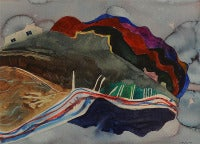 Untitled (Abstract Landscape), 1977