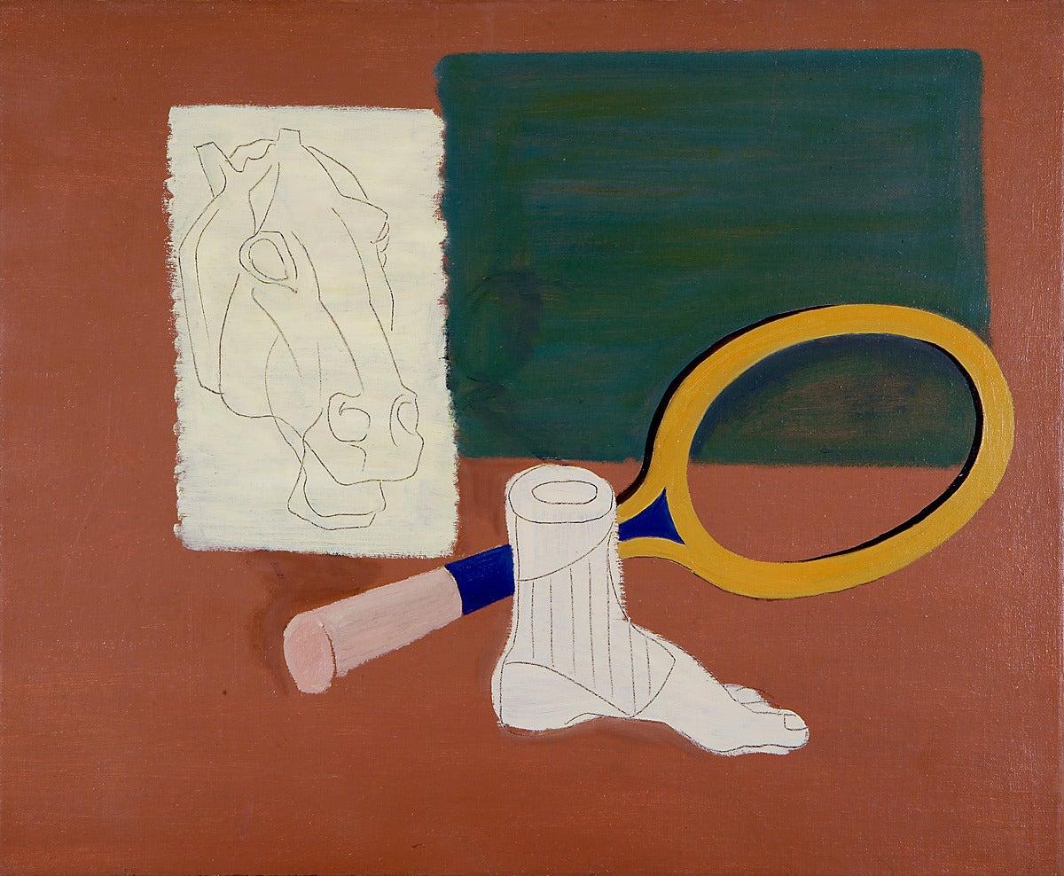 Horse Head, Tennis Racket, Foot