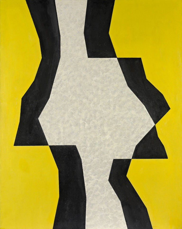 Charles Green Shaw Abstract Painting - Sentinel