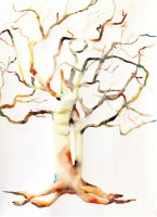 Kim McCarty - Untitled Tree