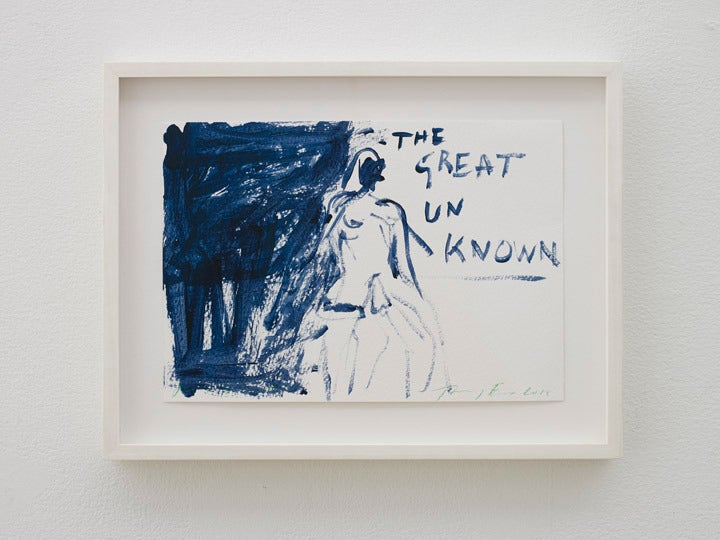 Tracey emin the great unknown painting at 1stdibs for Hendrickson s fine jewelry