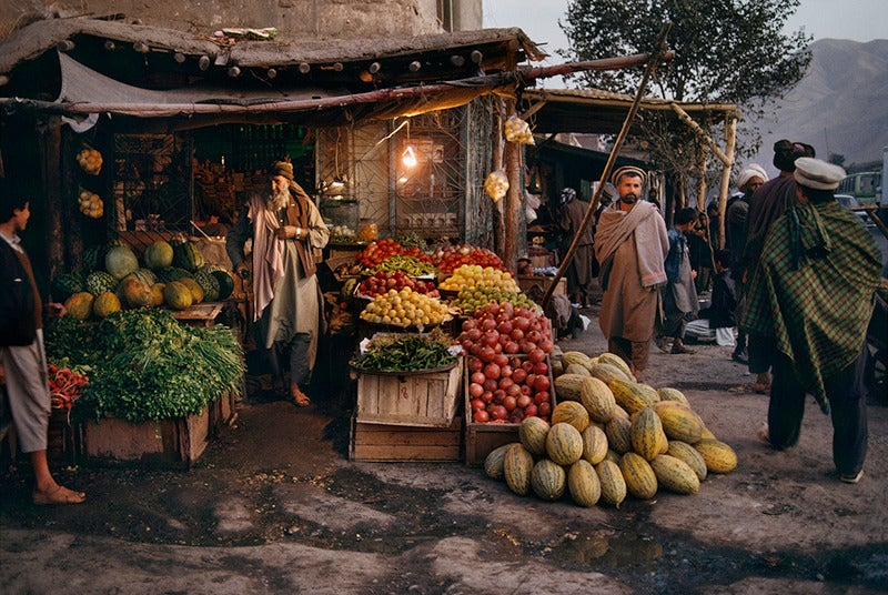 Steve Mccurry Harvest Market Photograph For Sale At 1stdibs