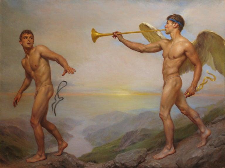 Michael Aviano Figurative Painting - Epiphany