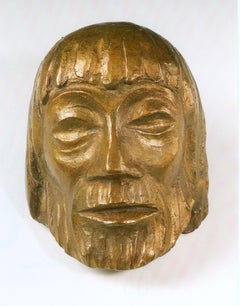 Ernst Barlach Bronze Christ Mask VI, 1931