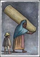 Mujer con Nino by Diego Rivera