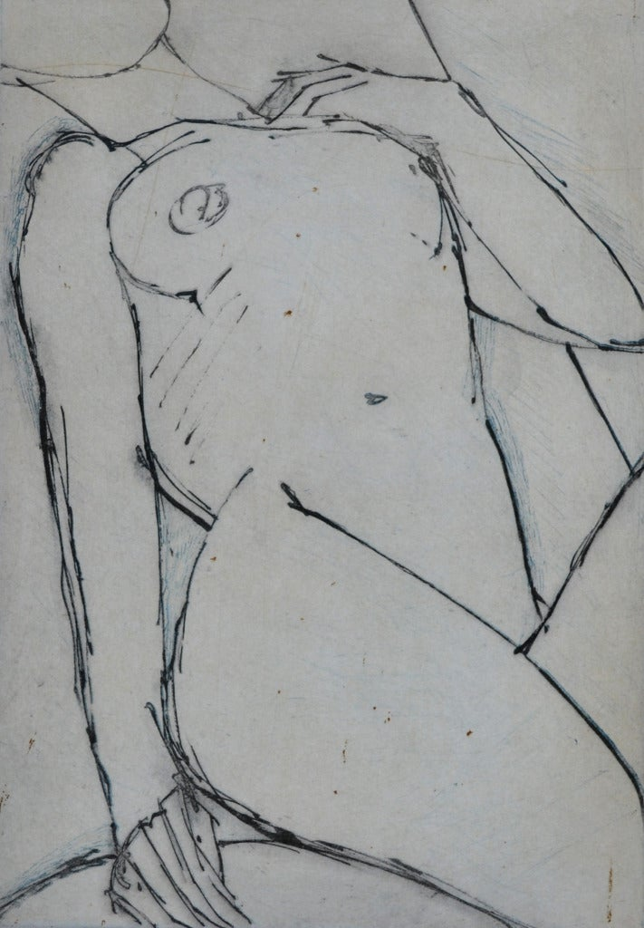 Nude Etching