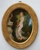 Classic Female Nude In Garden
