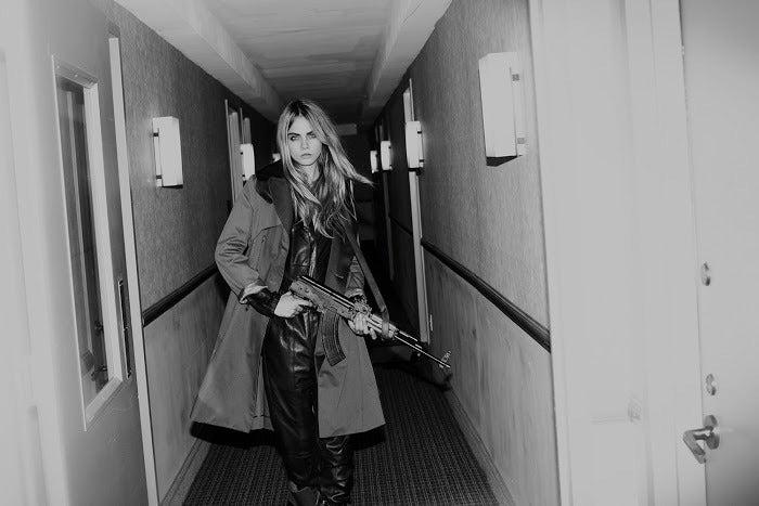 Cara Delevingne II - Photograph by Guy Aroch