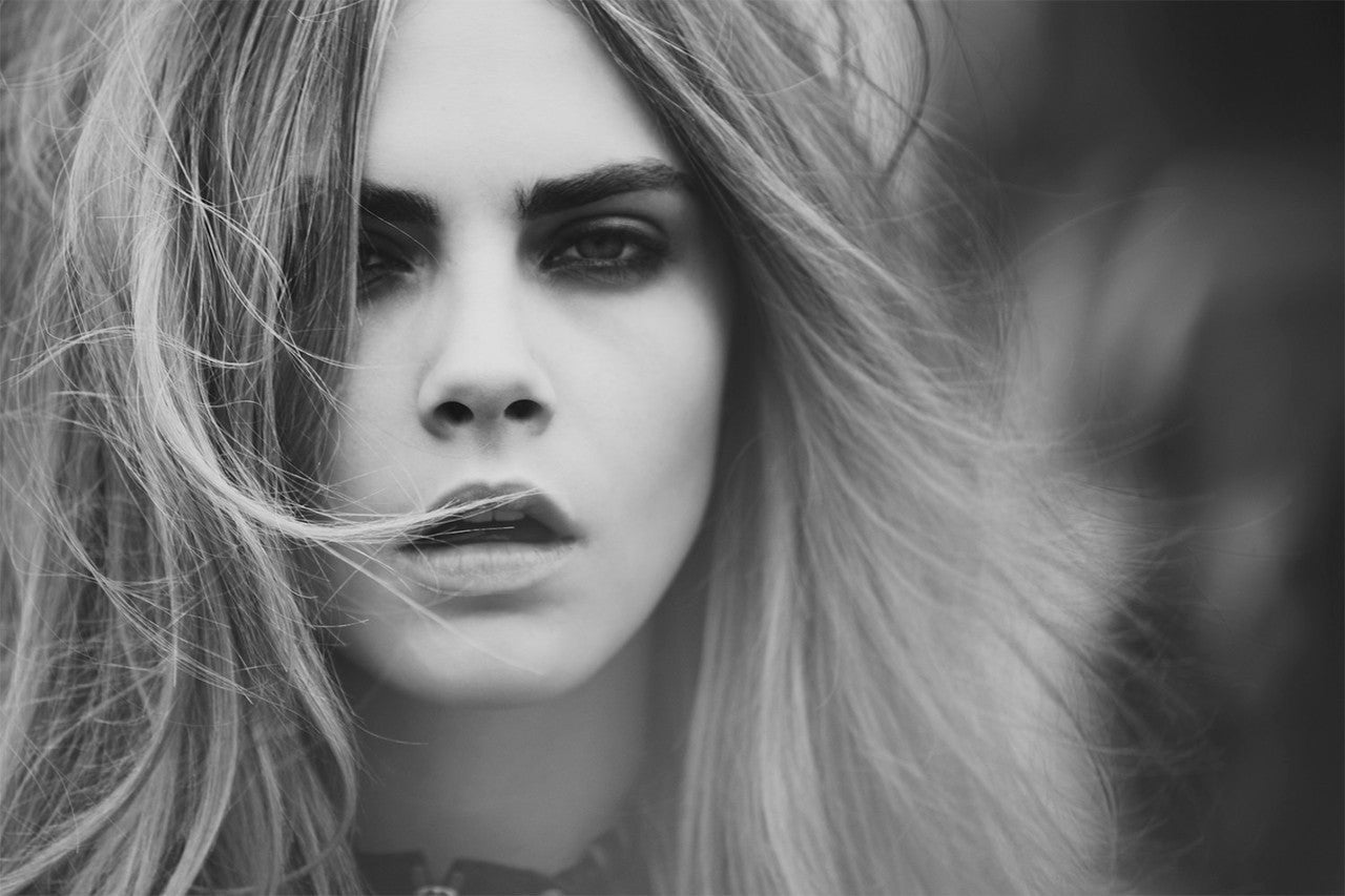 Cara Delevingne - Photograph by Guy Aroch
