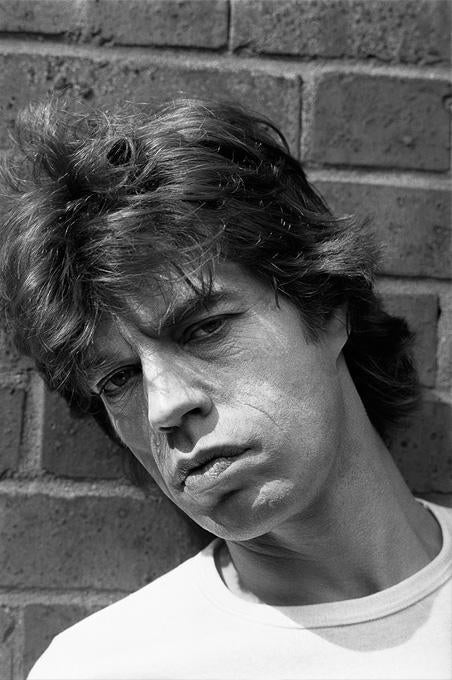 Mick Jagger 2 - Photograph by Gottfried Helnwein