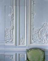 Boiserie detail by the Brothers Rousseau, Cabinet interieur de Madame Victoire Corps Central - R.d.C