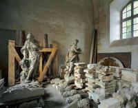 Reserve de sculpture, Petites Ecuries R.d.C, Chateau de Versailles