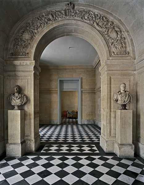 Robert polidori vestibule de l escalier louis philippe for Salle de bain louis xv versailles