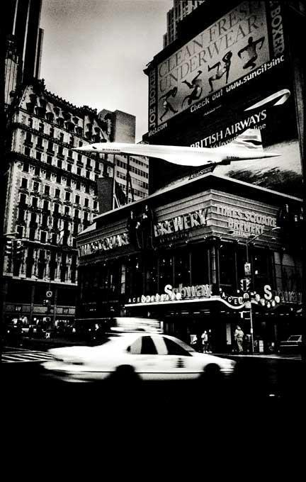 Concorde on Times Square