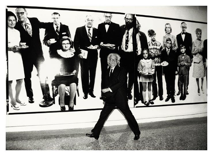 Richard Avedon, Milan 1995