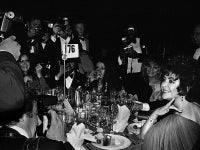 Liz Taylor and Paparazzi, Night of 100 Stars, NYC