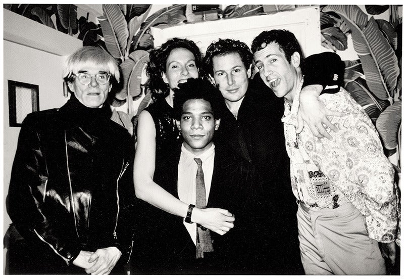 Roxanne Lowit - Warhol, J.&J.Schnabel, K. Scharf, Basquiat, Indochine NY 1