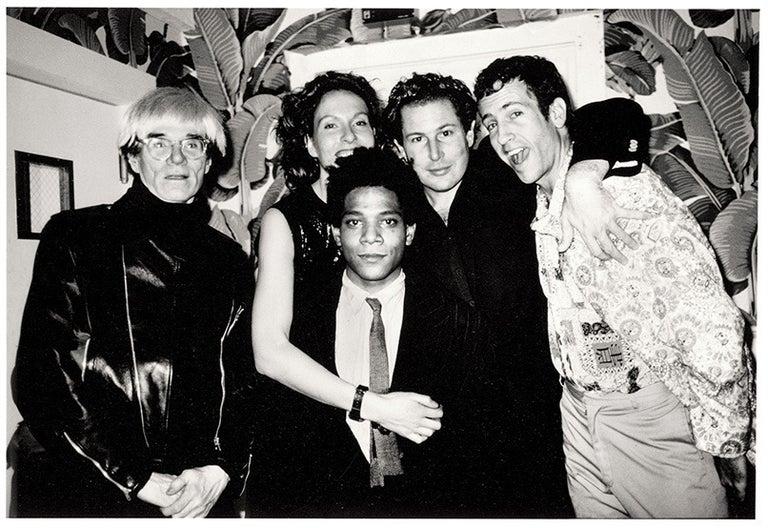 Roxanne Lowit Portrait Photograph - Warhol, J.&J.Schnabel, K. Scharf, Basquiat, Indochine NY