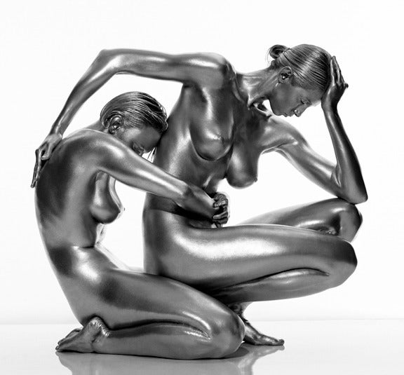 Demeter and Persephone - Photograph by Guido Argentini