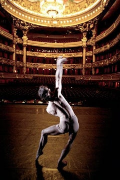 """Stéphane Phavorin avant une répétition de """"Orphée et Eurydice"""" de Pina Bausch, ballet de l'Opéra National de Paris"""