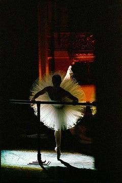 """Sandrine Marache dans """"Etudes"""" de Harald Lander, ballet de l'Opera National de Paris"""