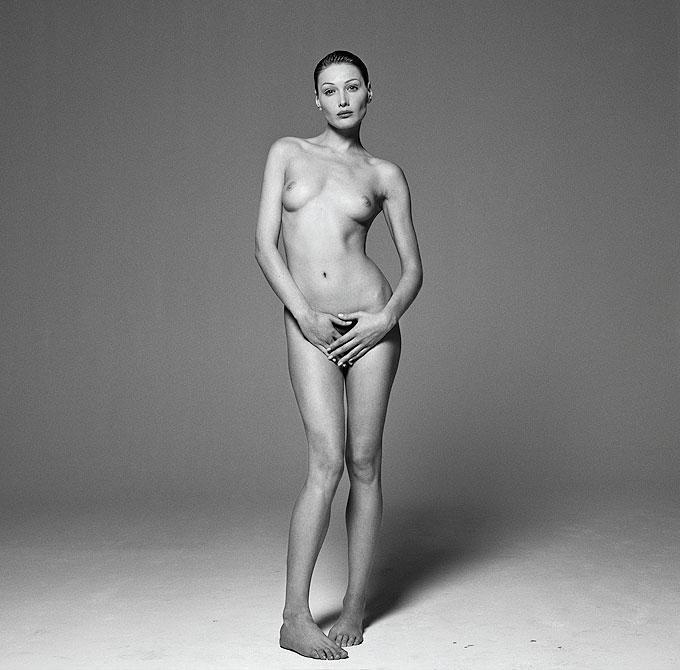Michel Comte - Carla Bruni, Safe Sex Campaign For Sale At -6800