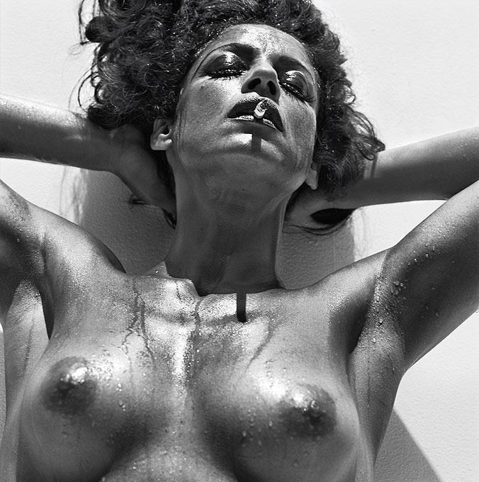 Sonia Braga I, Vogue Brazil - Photograph by Michel Comte