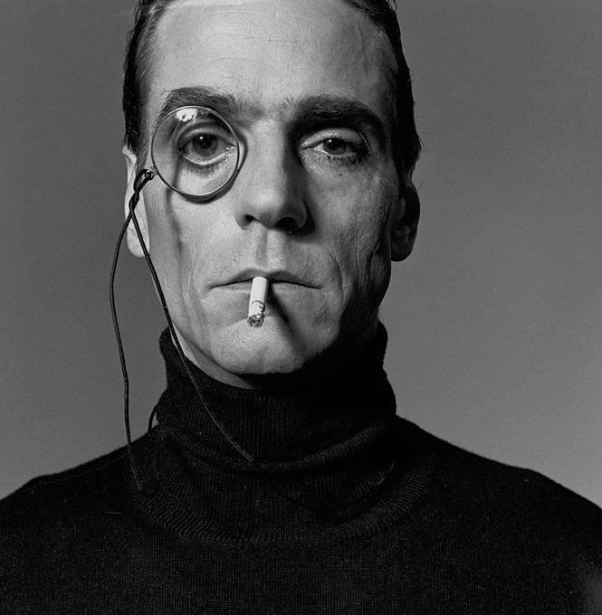 Michel Comte Photograph - Jeremy Irons, Interview