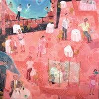 Lio de Faldas, oil painting on canvas