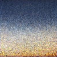 Richard Bruland - Sirocco, acrylic painting on wood panel