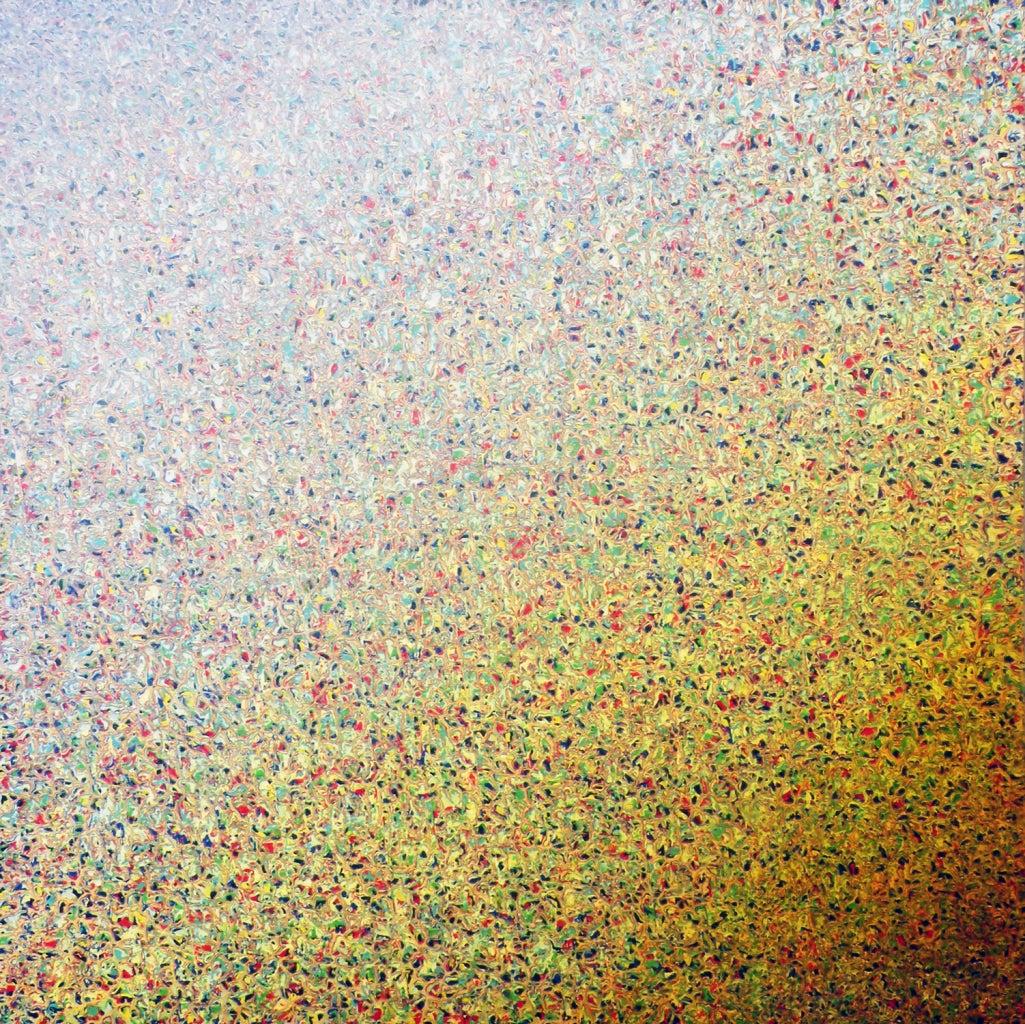 Richard Bruland - Teotwawki, acrylic painting on panel  1