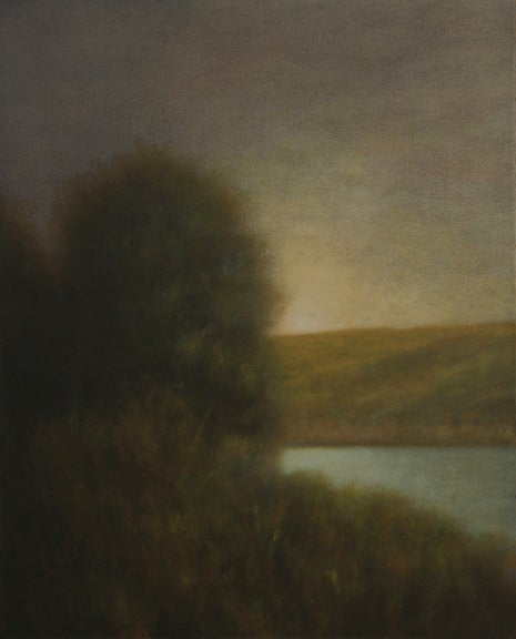 Semper Silent II, oil painting on canvas