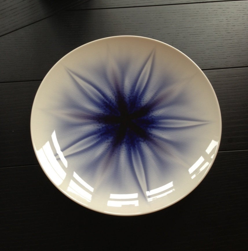 Yasokichi iv tokuda plate haruka sculpture at 1stdibs for Alex paint porcelain jewelry